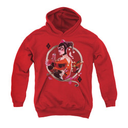 Image for Batman Youth Hoodie - Harley Q