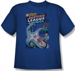 Image for Justice League of America Number 28 Youth T-Shirt