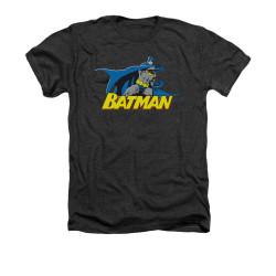 Image for Batman Heather T-Shirt - 8 Bit Cape