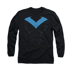 Image for Batman Long Sleeve Shirt - Nightwing Uniform