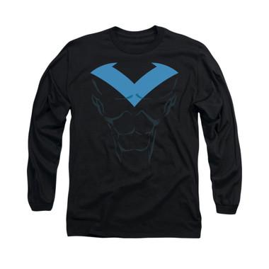Image for Batman Long Sleeve Shirt - Nightwing Uniform