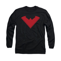 Image for Batman Long Sleeve Shirt - Nightwing Uniform 52