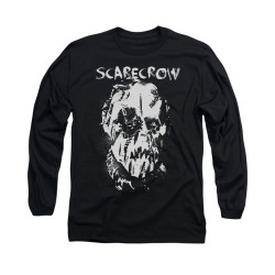 Image for Batman Begins Long Sleeve Shirt - Scarecrow Face