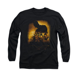 Image for Batman Begins Long Sleeve Shirt - Bats