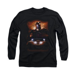 Image for Batman Begins Long Sleeve Shirt - Batman & Tumbler