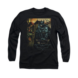 Image for Batman Begins Long Sleeve Shirt - Waiting
