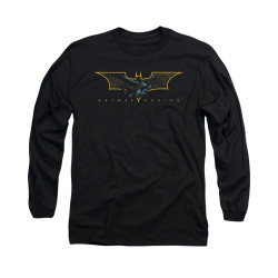 Image for Batman Begins Long Sleeve Shirt - Coming Through