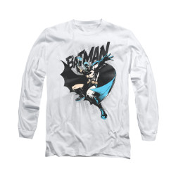Image for Batman Long Sleeve Shirt - Batarang Throw