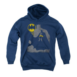 Image for Batman Youth Hoodie - Bat Knockout