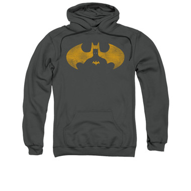 Image for Batman Hoodie - Bat Symbol Knockout