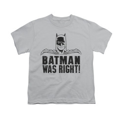 Image for Batman Youth T-Shirt - Was Right