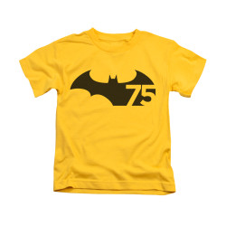 Image for Batman Kids T-Shirt - 75 Logo
