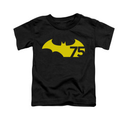 Image for Batman Toddler T-Shirt - 75 Logo 2