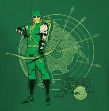 Image for Green Arrow Target T-Shirt