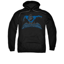 Image for Batman Hoodie - Wing Of The Night