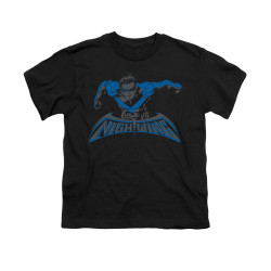 Image for Batman Youth T-Shirt - Wing Of The Night
