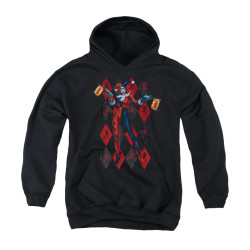 Image for Batman Youth Hoodie - Pow Pow