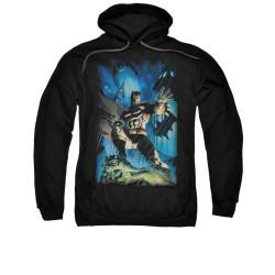 Image for Batman Hoodie - Stormy Dark Knight