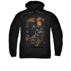 Image for Batman Hoodie - Grapple Fire