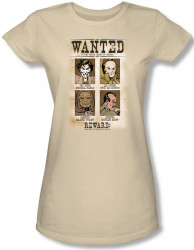 Image for DC Wanted Poster Girls Shirt