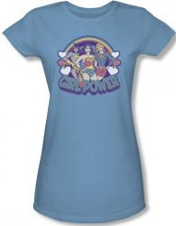 Image for DC Retro Girl Power Girls Shirt