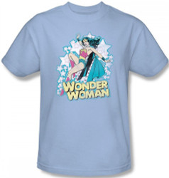 Image Closeup for Wonder Woman I'm Wonder Woman T-Shirt