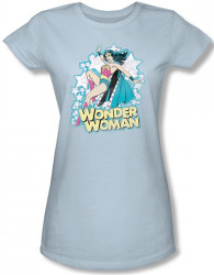 Image for Wonder Woman I'm Wonder Woman Girls Shirt