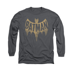 Image Closeup for Batman Classic TV Long Sleeve Shirt - Vintage Logo