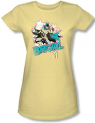 Image for Batgirl Stars Girls Shirt