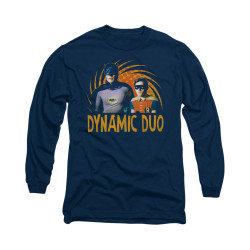 Image Closeup for Batman Classic TV Long Sleeve Shirt - Dynamic