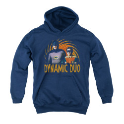 Image Closeup for Batman Classic TV Youth Hoodie - Dynamic