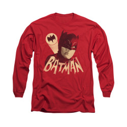 Image Closeup for Batman Classic TV Long Sleeve Shirt - Bat Signal