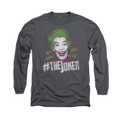 Image Closeup for Batman Classic TV Long Sleeve Shirt - #joker