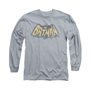 Image for Batman Classic TV Long Sleeve Shirt - Show Logo