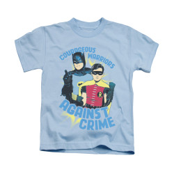 Image Closeup for Batman Classic TV Kids T-Shirt - Courageous Warriors