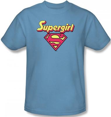 3a358844 Supergirl Logo T-Shirt - NerdKungFu