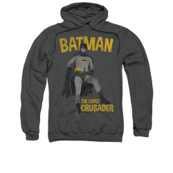 Image Closeup for Batman Classic TV Hoodie - Caped Crusader