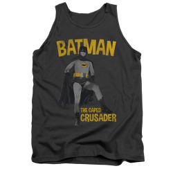 Image Closeup for Batman Classic TV Tank Top - Caped Crusader