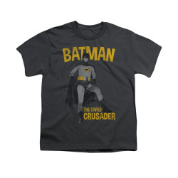 Image Closeup for Batman Classic TV Youth T-Shirt - Caped Crusader