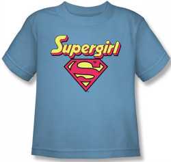 Image for Supergirl Logo Kid's T-Shirt