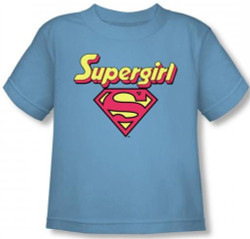 Image for Supergirl Logo Toddler T-Shirt