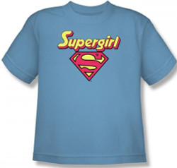 Image for Supergirl Logo Youth T-Shirt