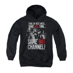 Image Closeup for Batman Classic TV Youth Hoodie - Bat Channel
