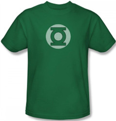 Image Closeup for Green Lantern Little Logos T-Shirt