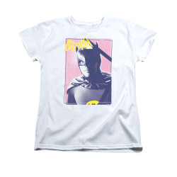 Image Closeup for Batman Classic TV Womans T-Shirt - Wayne 80's