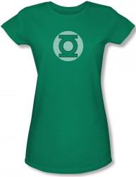 Image for Green Lantern Little Logos Girls Shirt