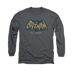 Image Closeup for Batman Classic TV Long Sleeve Shirt - In Color
