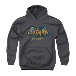Image Closeup for Batman Classic TV Youth Hoodie - In Color