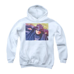 Image Closeup for Batman Classic TV Youth Hoodie - Smooth Groove