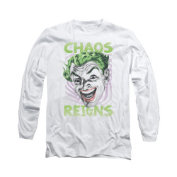 Image for Batman Classic TV Long Sleeve Shirt - Chaos Reigns